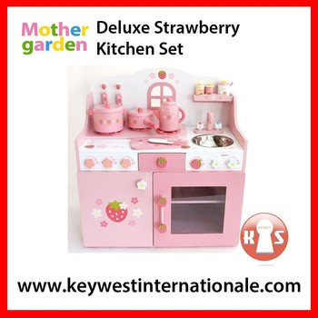 Deluxe Strawberry Kitchen Set