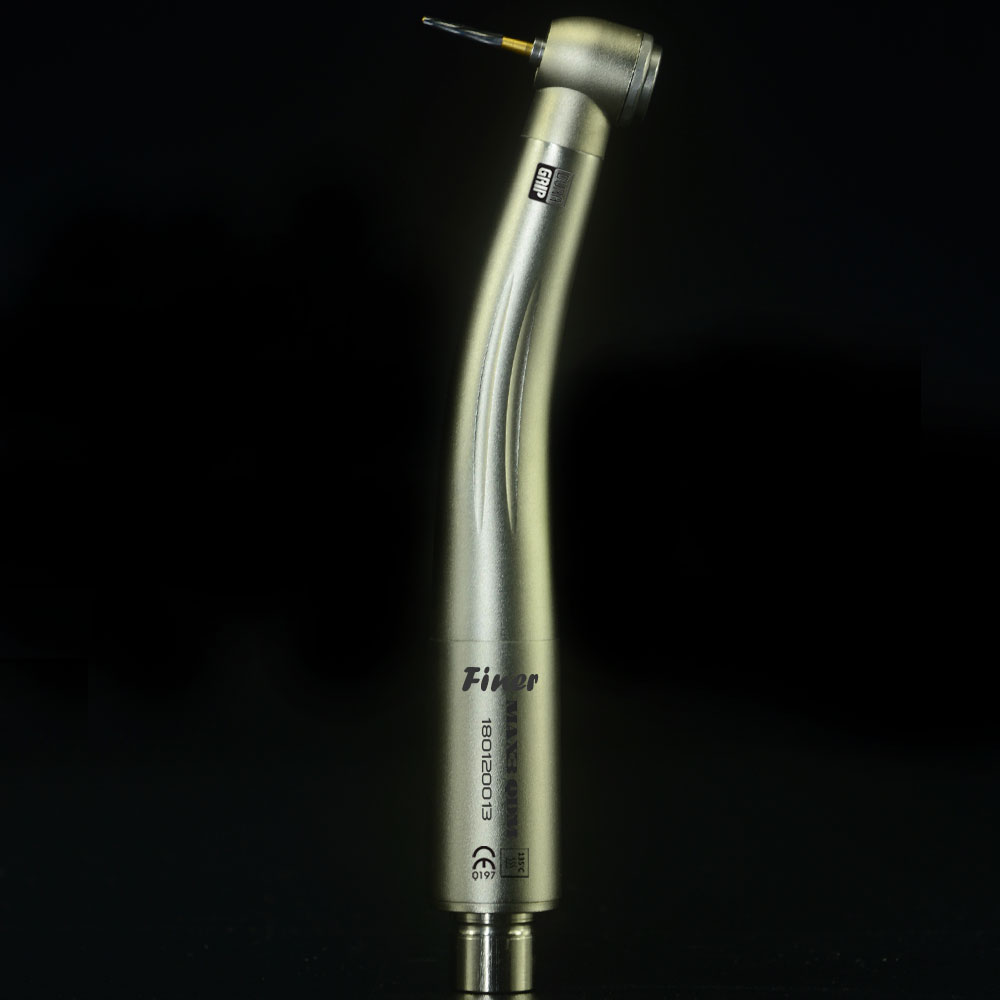 dental high speed handpiece air turbine handpiece pana-max plus style japanese bearing mini head push button titanium coating