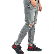 Pants Jeans Men Denimmen Drop Crotch Jeansripped Denim Jeans For Men