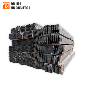 30x30 hot formed square fence hollow section, hollow structural square steel pipe iron tube length 6 meter