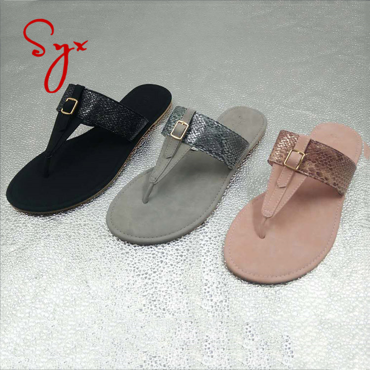 Latest designer ladies slipper flat women slide girls sandals wholesale