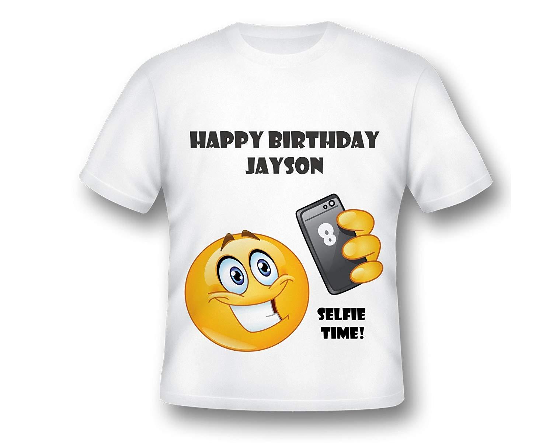 Custom Emoji Birthday Party Shirt, Selfie Emoji Birthday Shirt, Emoji Birthday, Custom Emoji Birthday, Custom Emoji Shirt, Emoji Party, OMG BIRTHDAY SHIRT