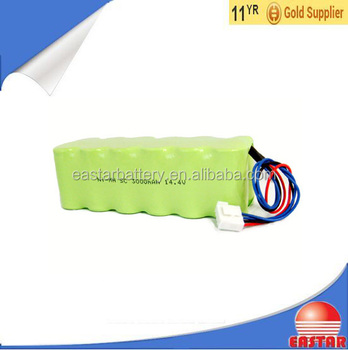 China supplier NIMH Rechargeable battery pack for vacuum cleaner