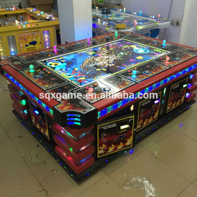 Fish hunter arcade games fish game table gambling machines for Fish and game table