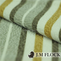Products from China factory flocking textile print flame retardant fabric yard