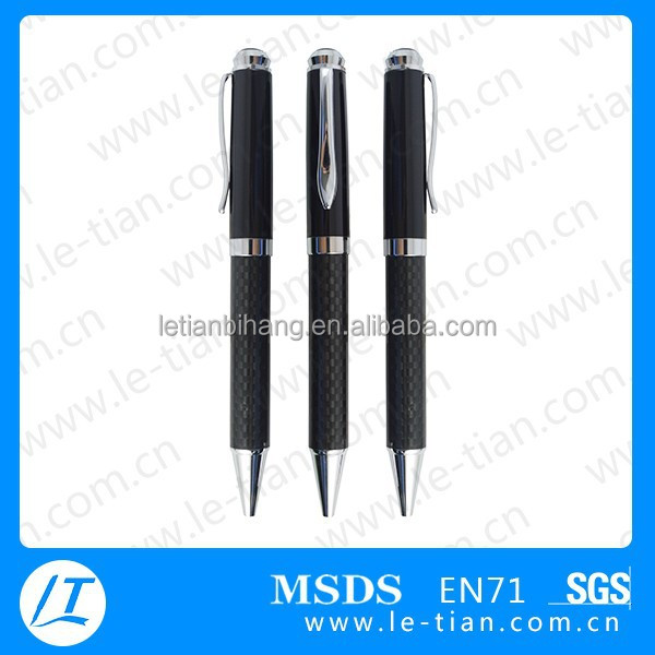 MP-248 Novelty carbon fibre pen metal hotel pen for corporate gifts