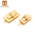 Metal bag buckle square turn locks for leather bags