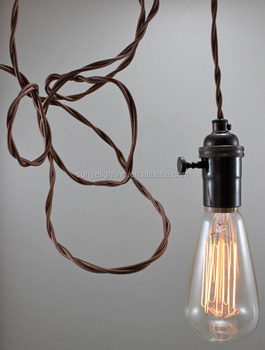 Antique brass hanging lamp vintagelamp parts pendant light cord set antique brass hanging lamp vintagelamp parts pendant light cord set aloadofball Choice Image