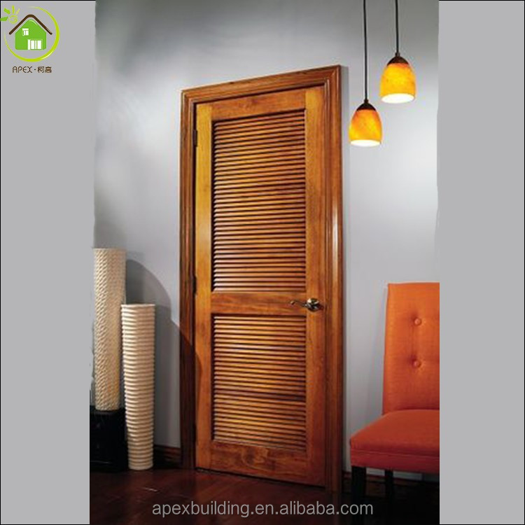 Exterior Lowes Louvered Wood Door Buy Lowes Louvered