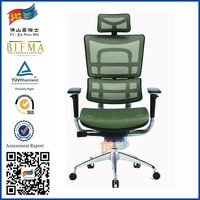 JNS hot sale ergonomic desks and chairs with green material