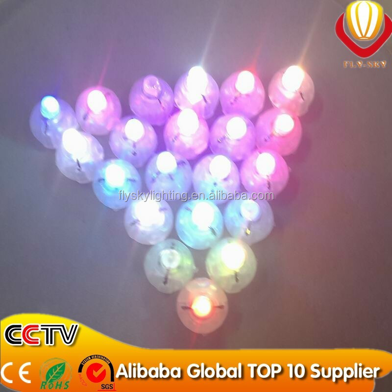 factory direct glow in the dark party & wedding & festival decoration super bright neon flashing mini led light balloon