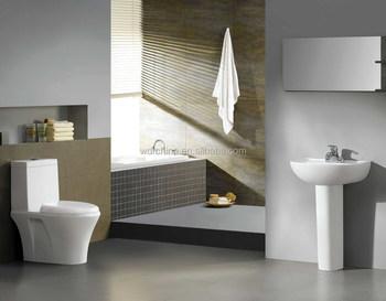Toilet in stijl toilet hygiëne badkamer