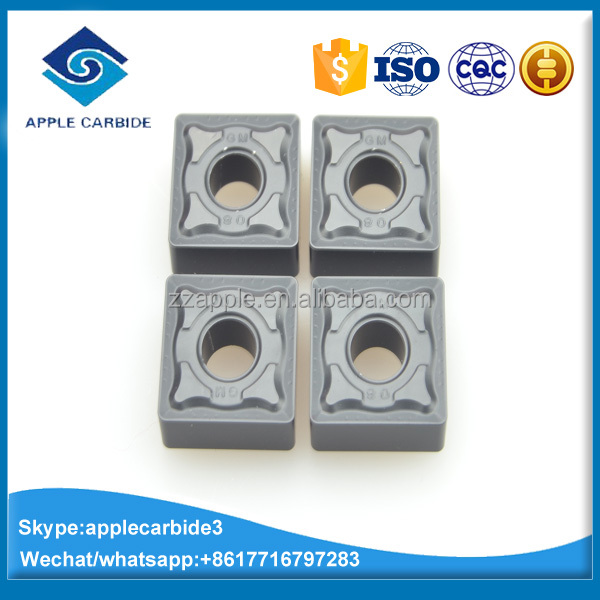SNMG120408-GM cemented carbide cutting tools for general turning