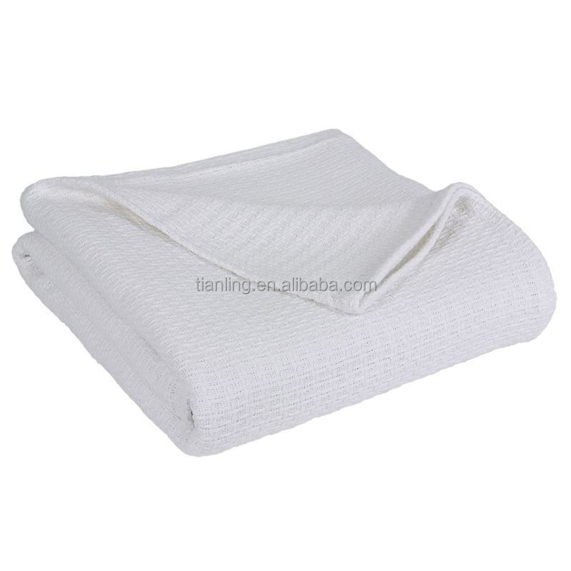 Cotton Cellular Summer Coverlets blanket