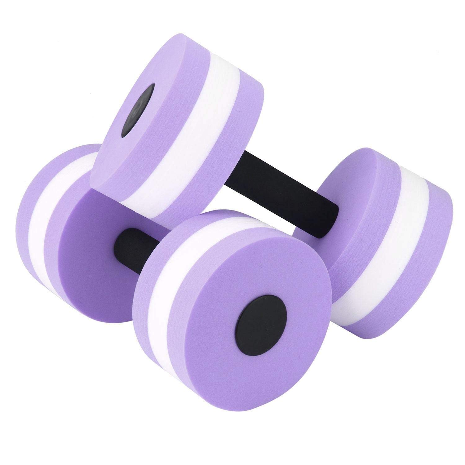 7be61c95d09 Get Quotations · Leegoal Aquatic Dumbbells, Exercise Foam Dumbbells with  Hand Bars, Pool Resistance for Water Aerobics