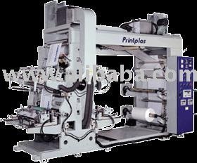 HIGH SPEED 4 COLORS FLEXO GRAPHIC PRINTING MACHINE