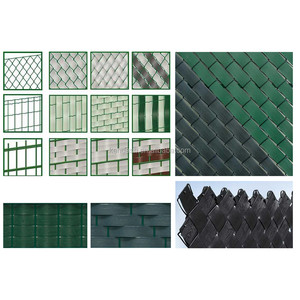 PVC Privacy Garden Fence Strip for chain link metal fence