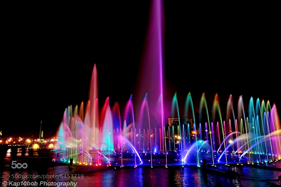 LED Colorful Outdoor Dancing Water Fountain Design