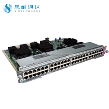 Fiber Optical Ethernet Switch Cisco Wsx4748upoeerj45 Line