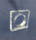 customized acrylic towel ring