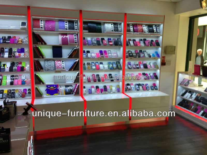 Mobile Phone Shop Counter Design For Sale