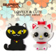Hot selling cartoon memory disk 2.0 usb flash drive 32gb 64gb pendrive 32gb Cute Cat gift toys pendrive
