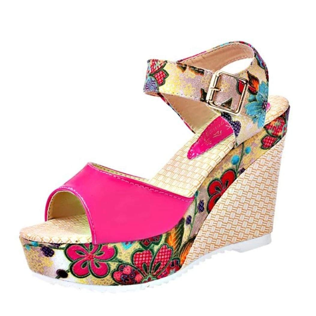 fd63c9acdce5 Get Quotations · G Kshop Wedge Sandal
