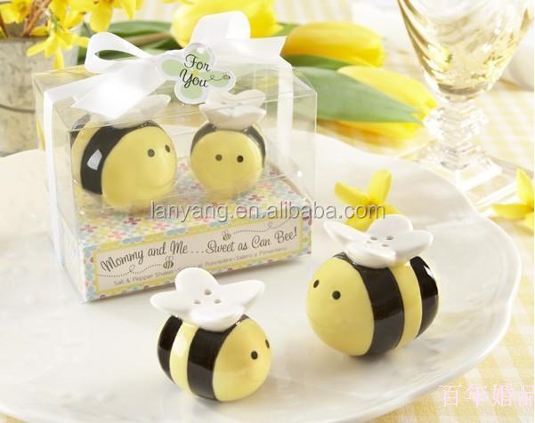 Honey Bee Ceramic Cruet Wedding Favors Gift Gifts For Customer