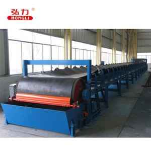 durable hot air belt conveyor drying machine