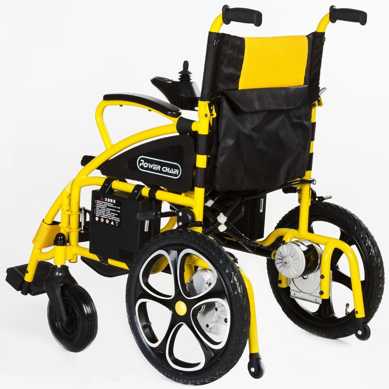 stair climbing foldable Disabled Power electric Wheelchair with good motor