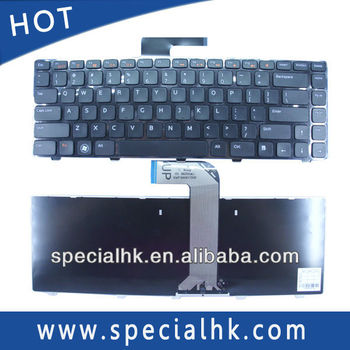 Silicone Skin Cover Protector Keyboard For Dell Inspiron N4110 N4120 M4110  N4050 Series - Buy Silicone Keyboard For Laptop,Notebook Keyboard,Keyboard