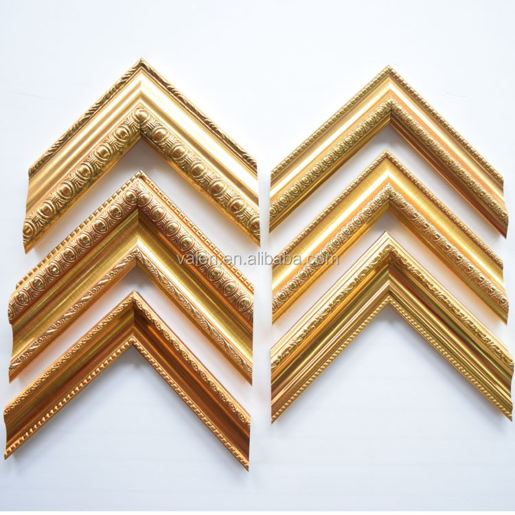 Free Sample Customized Cheap Gold Wholesale Foam Ps Picture Frame ...