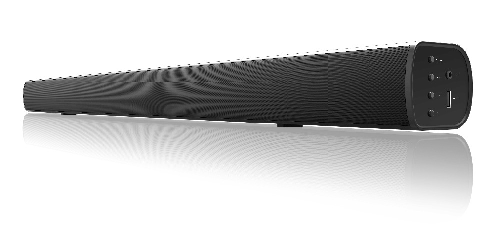 high quality tv system sound bar with flashing colorful led light with high quality