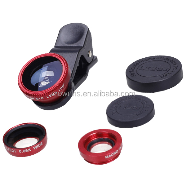 Wholesale Phone Magnifying Microscope Lens for iPhone/fisheye lens