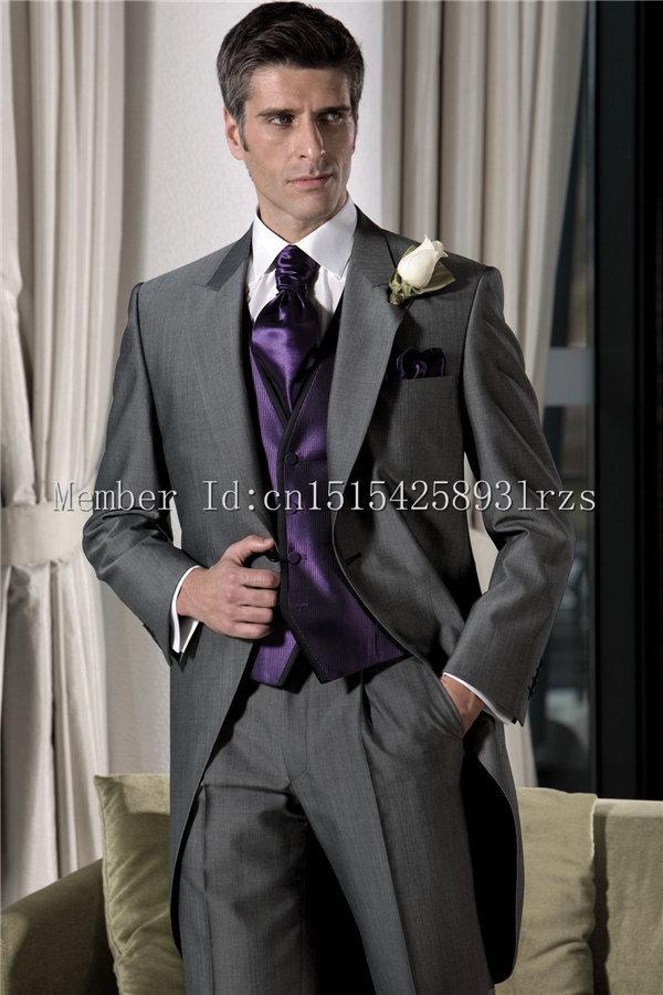 Grey Suits For Men Wedding Ocodea