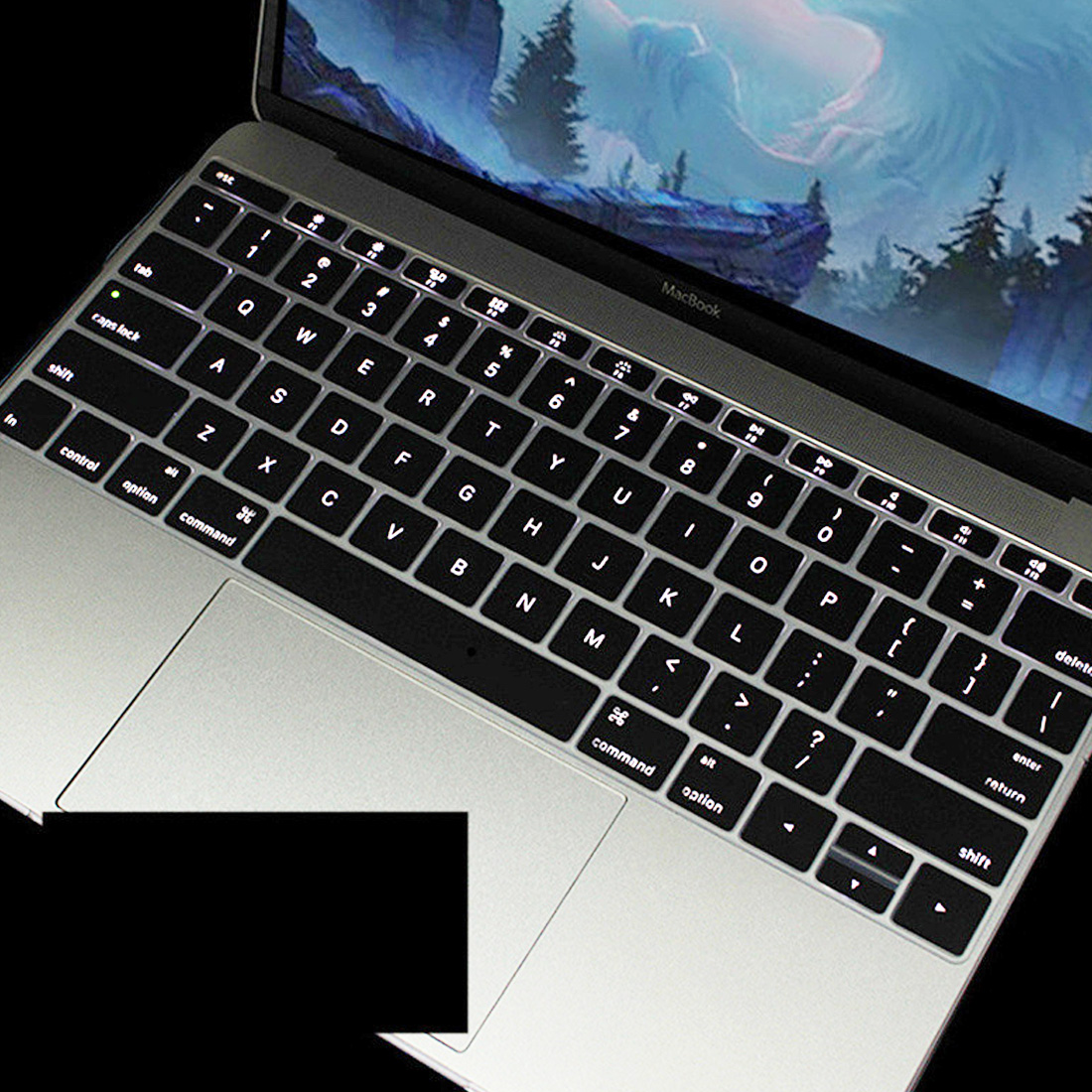 Waterproof Silicone Keyboard Cover Protector Skin For Macbook Soft Keyboard  Stickers Covers For Laptops Typing Keyboard Covers From Newgema, &Price