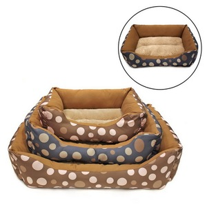 Guangzhou Wholesale Soft Plush Dog Cat Bed