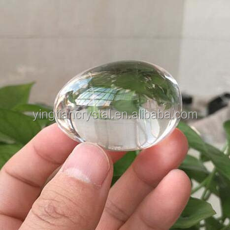 Custom high quality Faceted Crystal Egg