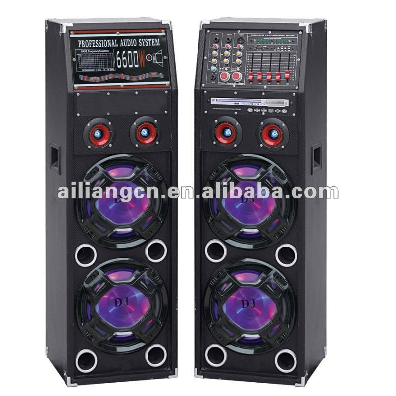 AILIANG professional stage speaker with DVD USBFM-DV1020/2.0
