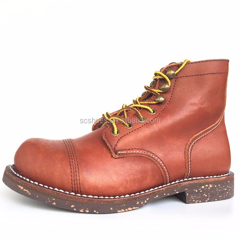 Goma On Y Goodyear Trabajo Product Impermeable Zapatos Acero Superior Con De Buy Nubuck Puntera Cuero Welt Suela 0PknwO