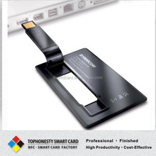 Credit Card Size USB Business Card With Both Size Color Printing Logo 2G/4G/8G/16G/32G/