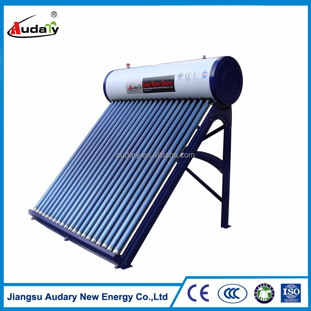 High quality low pressure solar water heating system