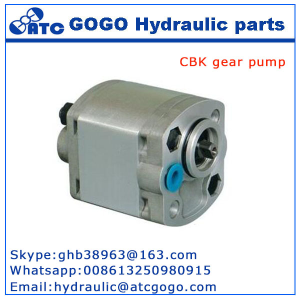 CBK series hydraulic systerm parts 12v dc pump motor