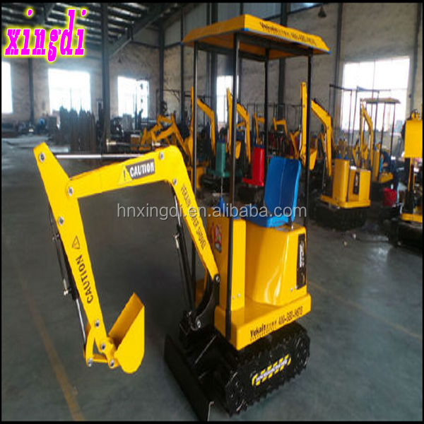 2016 Best selling for children attraction kids mini excavator