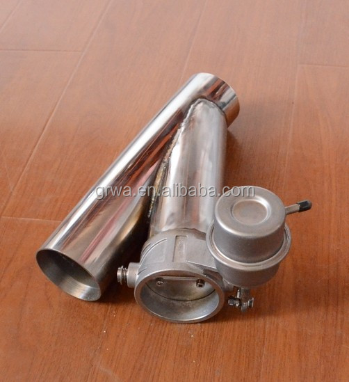 "Y pipe 2"" /2.25""/ 2.5""/ 3"" Electric Stainless Exhaust Cutout Cut Out Dump Valve"