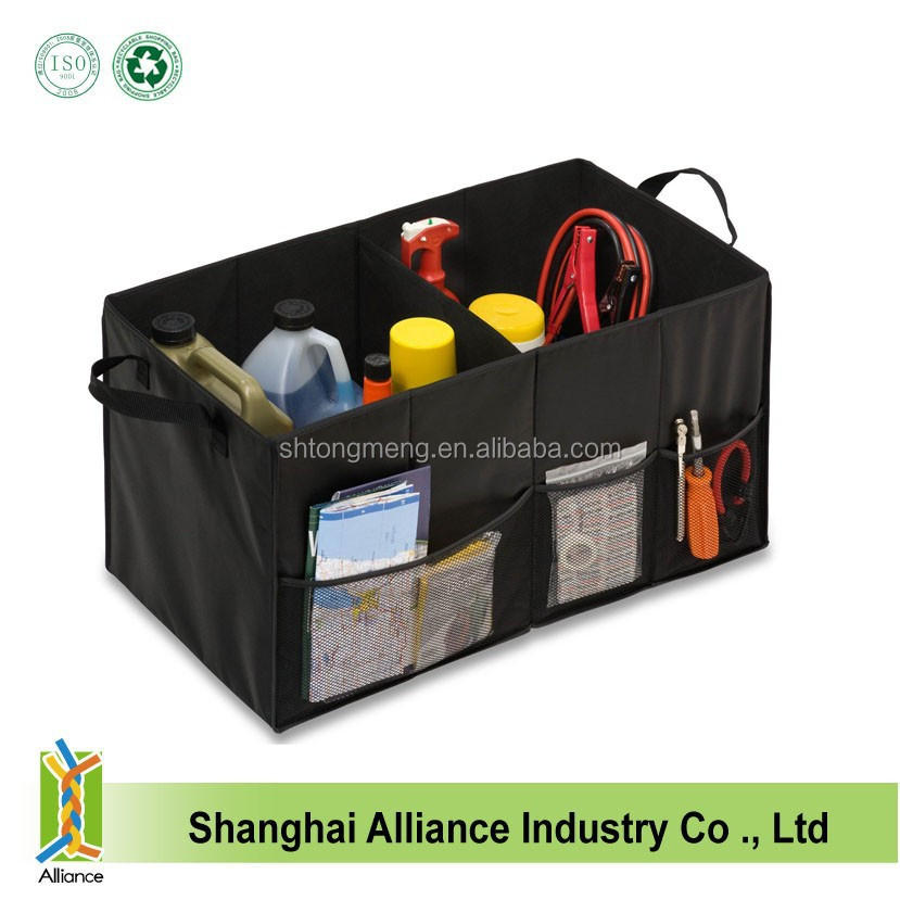 Car Folding Trunk Organizer With Handle/Car Trunk Tools Bag Organizer