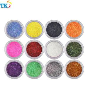 Glitter powder pigment For the nail industry.