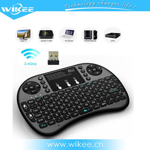 Cheap selling 2.4G I8 controller tablet pc wireless keyboard mouse