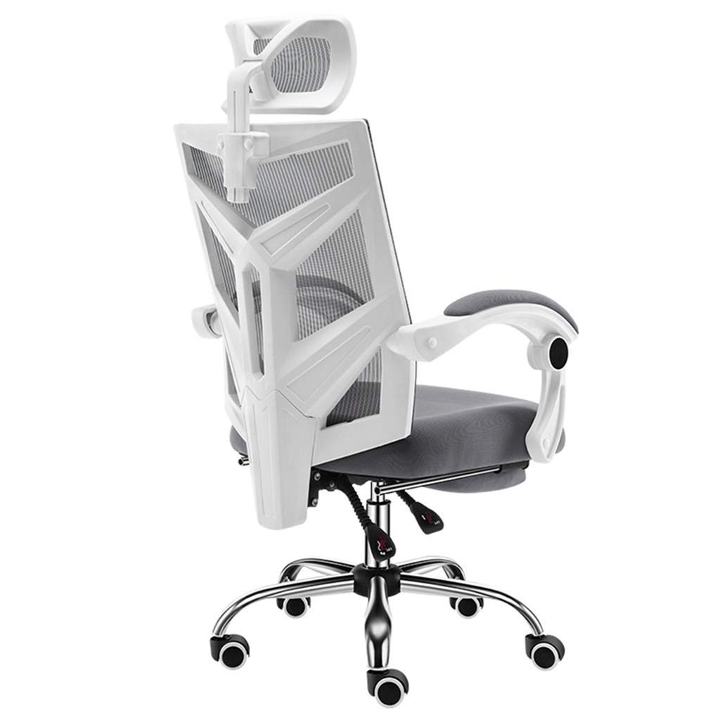 Desk Chairs Chair Computer Chair Home Chair Ergonomic Office Chair Home Student Chair Computer Chair Office Chair (Color : Gray, Size : 6060113cm)