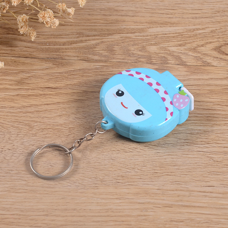 Popular 1.5m cartoon character series retractable tape measure